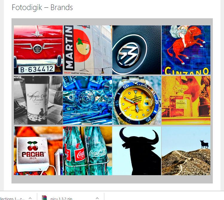 Galería Fotografías Fotodigik Brands