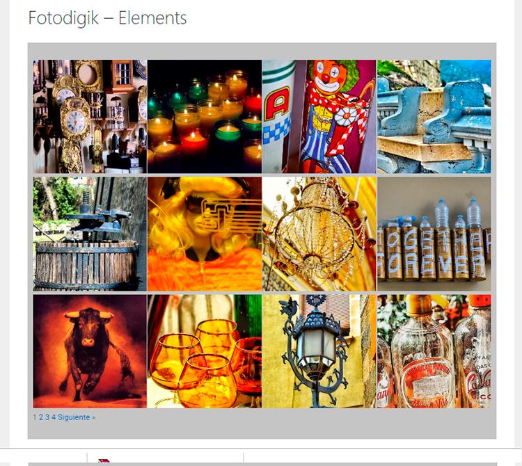 Galería Fotografías Fotodigik Elements