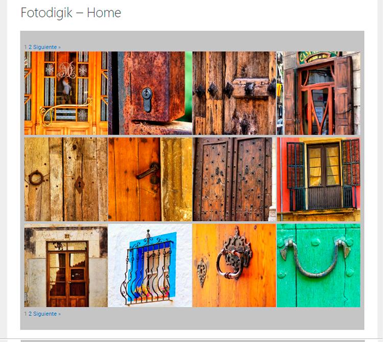 Galería Fotografías Fotodigik Home