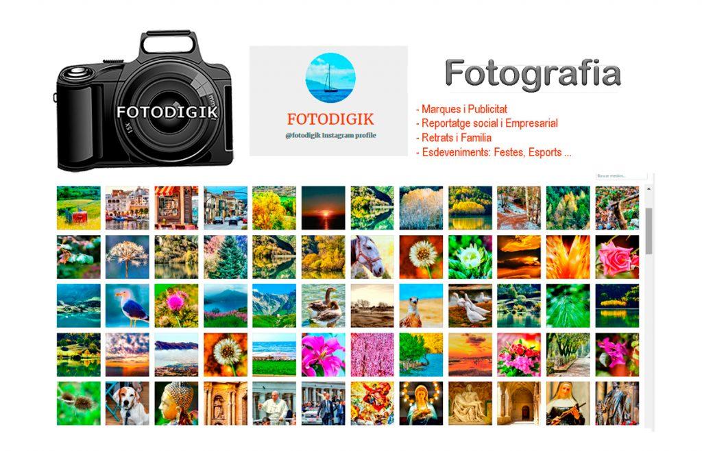 Galería Fotografías Fotodigik - Reportatges Fotogràfics