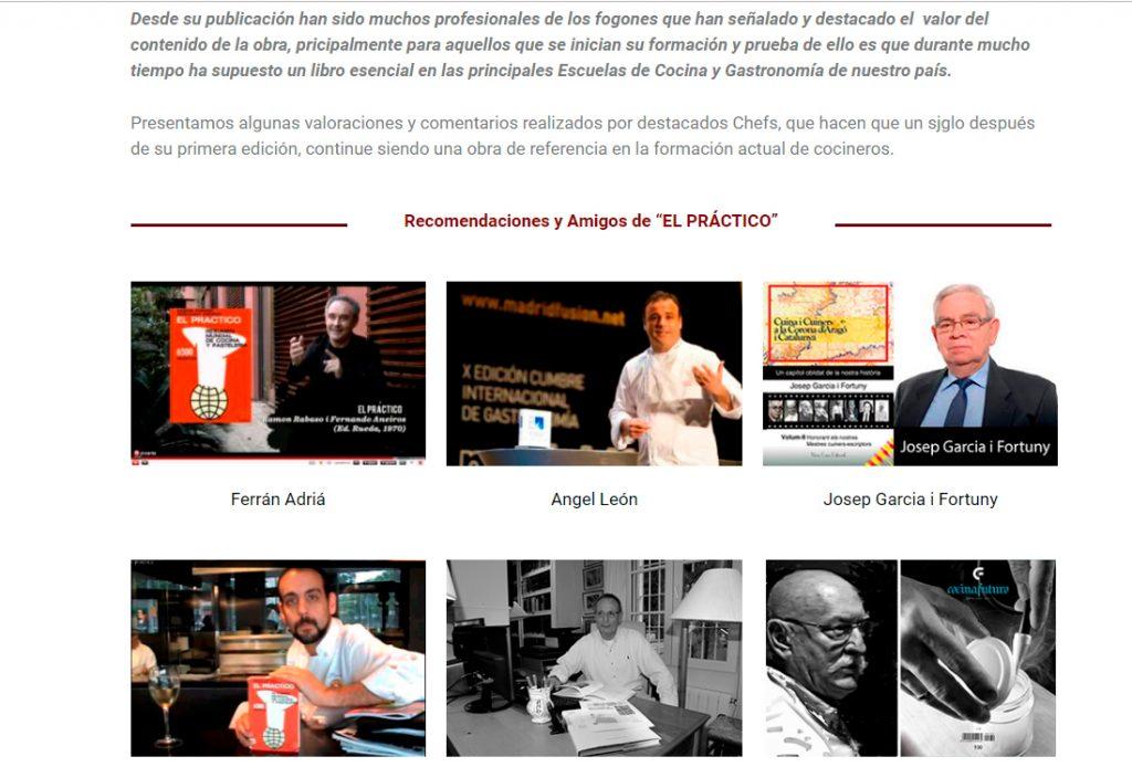 Disseny web KikeBcn - libro El Práctico 6500 recetas - www.elpractico.net