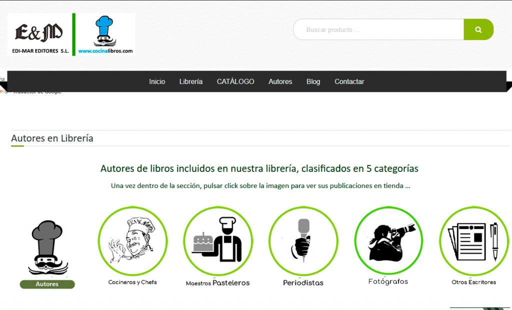 Disseny web KikeBcn - www.cocinalibros.com