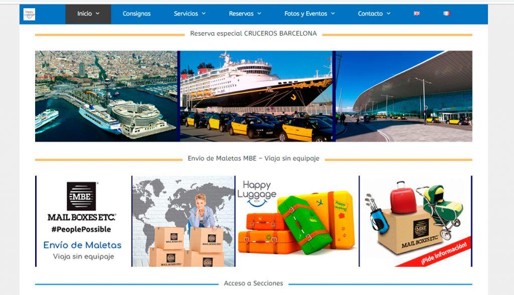 Disseny web KikeBcn - www.happyluggagebcn..com