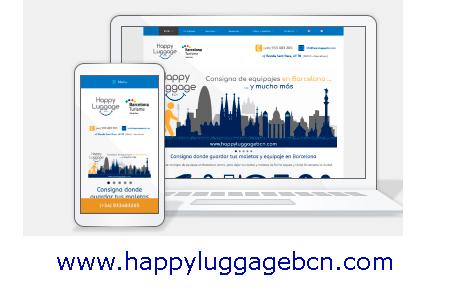 Diseño web KikeBcn - www.happyluggagebarcelona