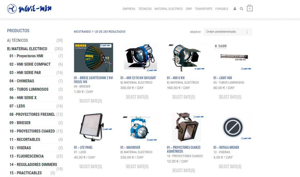 Disseny web KikeBcn - www.movie-men.com
