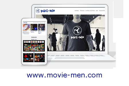 Diseño web KikeBcn - www.movie-men.com