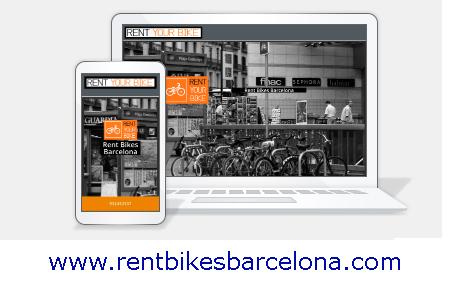 Diseño web KikeBcn - www.rentbikesbarcelona.com