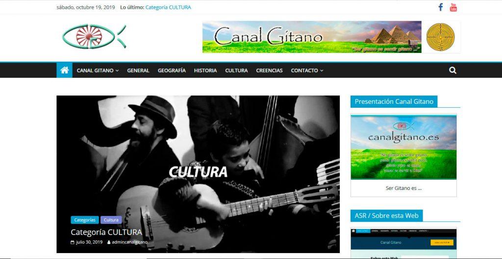 Web Canal Gitano