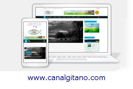 Web Canal Gitano www.canalgitano.com