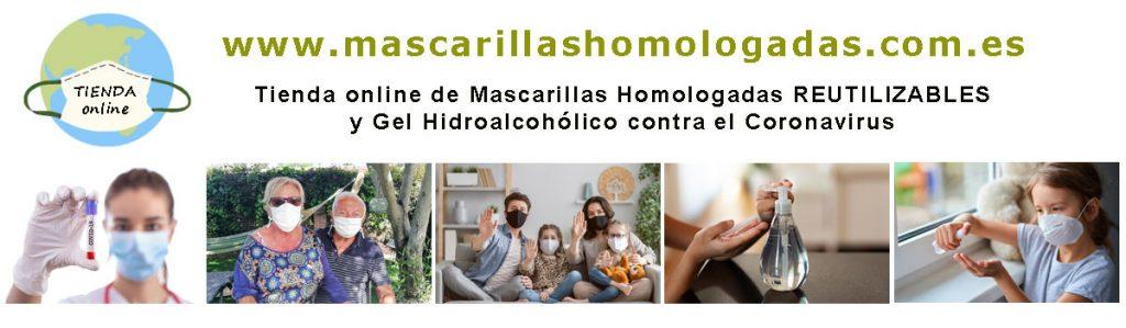 Banner Mascarillas Homologadas .com.es
