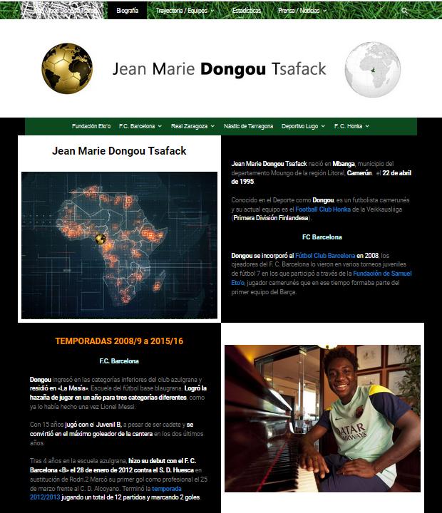 Web Jean Marie Dongou