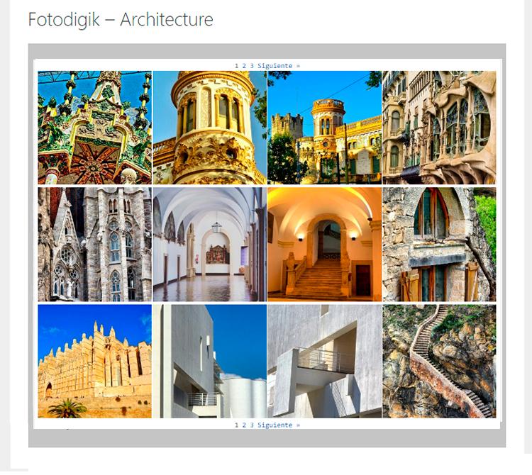 Galería Fotografías Fotodigik Aarchitecture