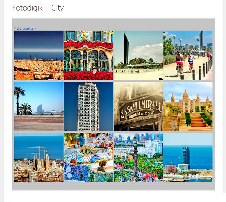 Galería Fotografías Fotodigik City