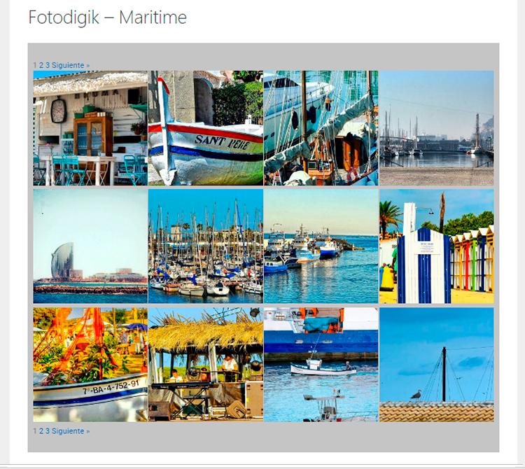 Galería Fotografías Fotodigik Maritime