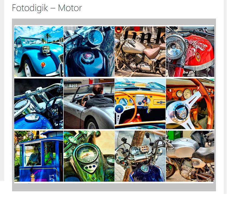 Galería Fotografías Fotodigik Motor