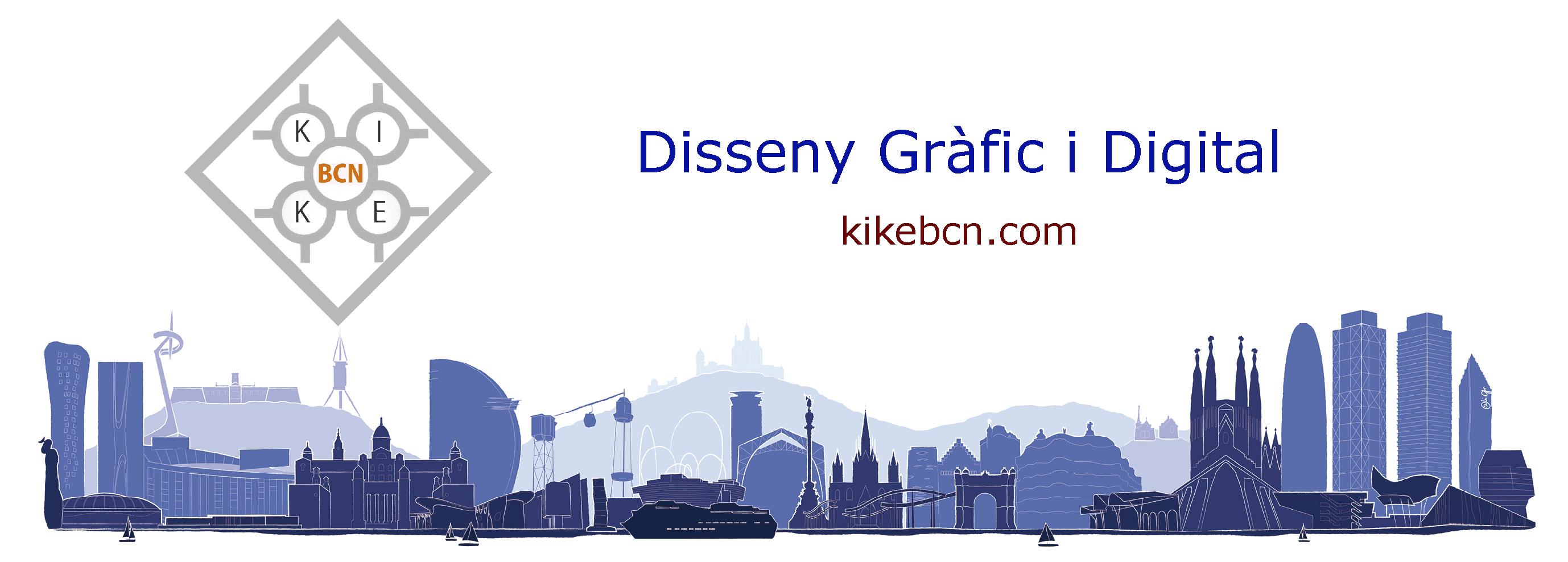 KikeBcn -Disenyador Gràfic i Digital - Disseny web