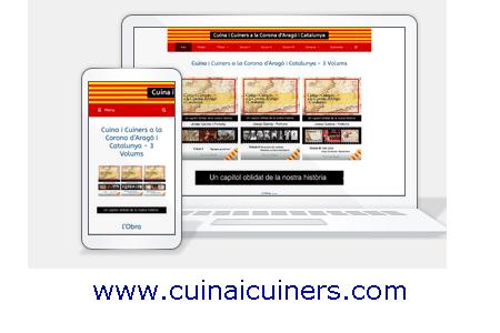 Diseño web KikeBcn - www.cuinaicuiners.com