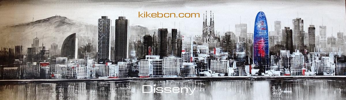 KikeBcn - Disseny